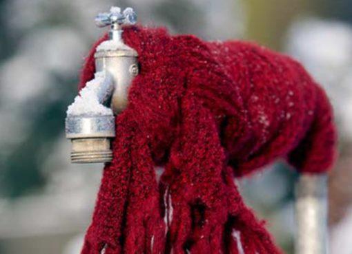 Fostschutz - Wasserleitungen entleeren!
