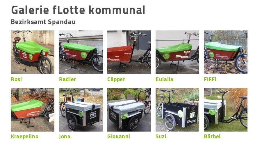 fLotte Berlin in Spandau - Freie Lastenräde
