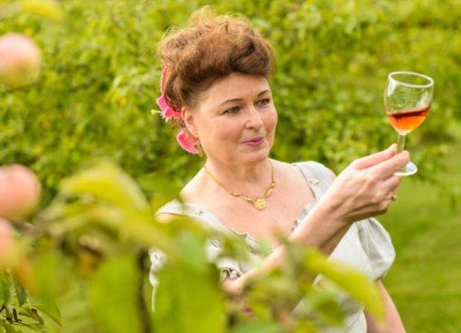 Beerenweinprobe im Weingut Ollinmäki - Grüne Woche 2019