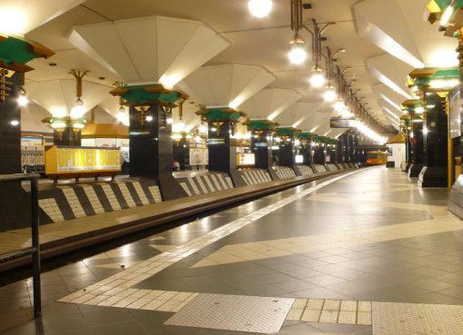Der U-Bahnhof Rathaus Spandau - Foto: © Phaeton1, cc by-sa-3.0
