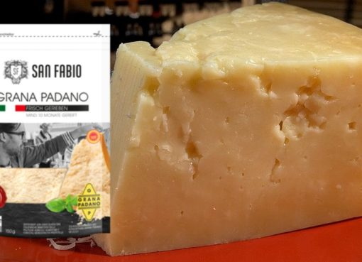Produktrückruf für San Fabio Grana Padano