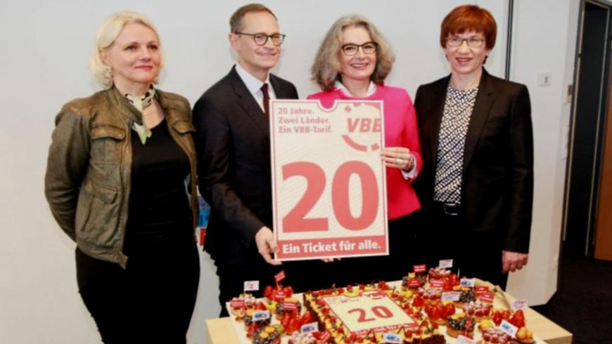 20 Jahre Verkehrsverbund Berlin-Brandenburg VBB