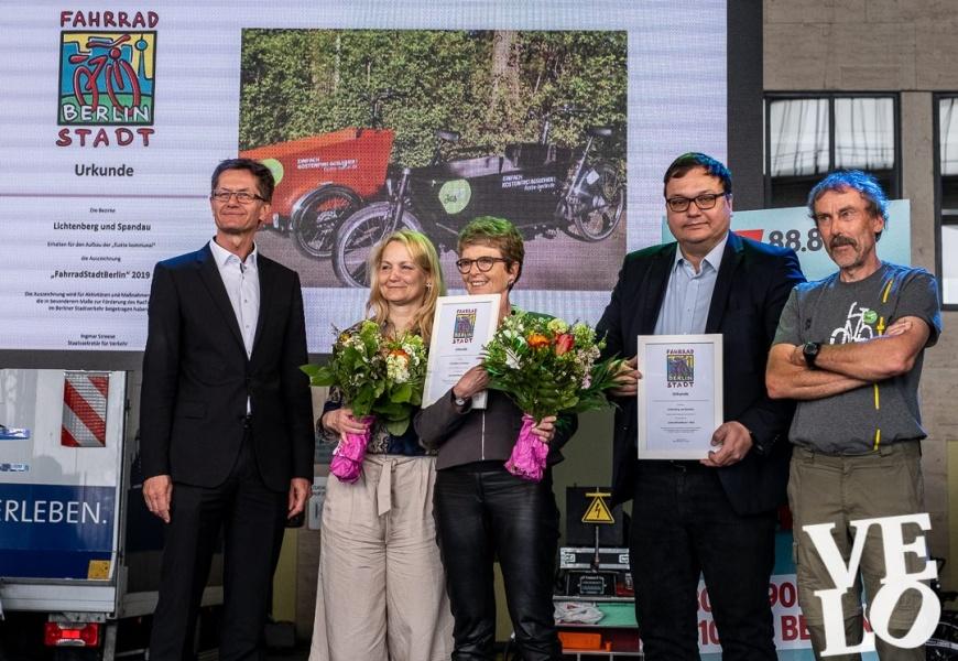 """Preis """"FahrradStadtBerlin"""""""