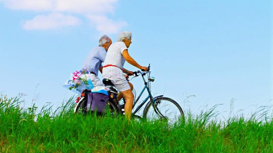 Radeln und Radwandern