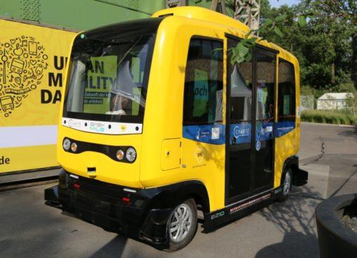 easymile-Minibus der BVG