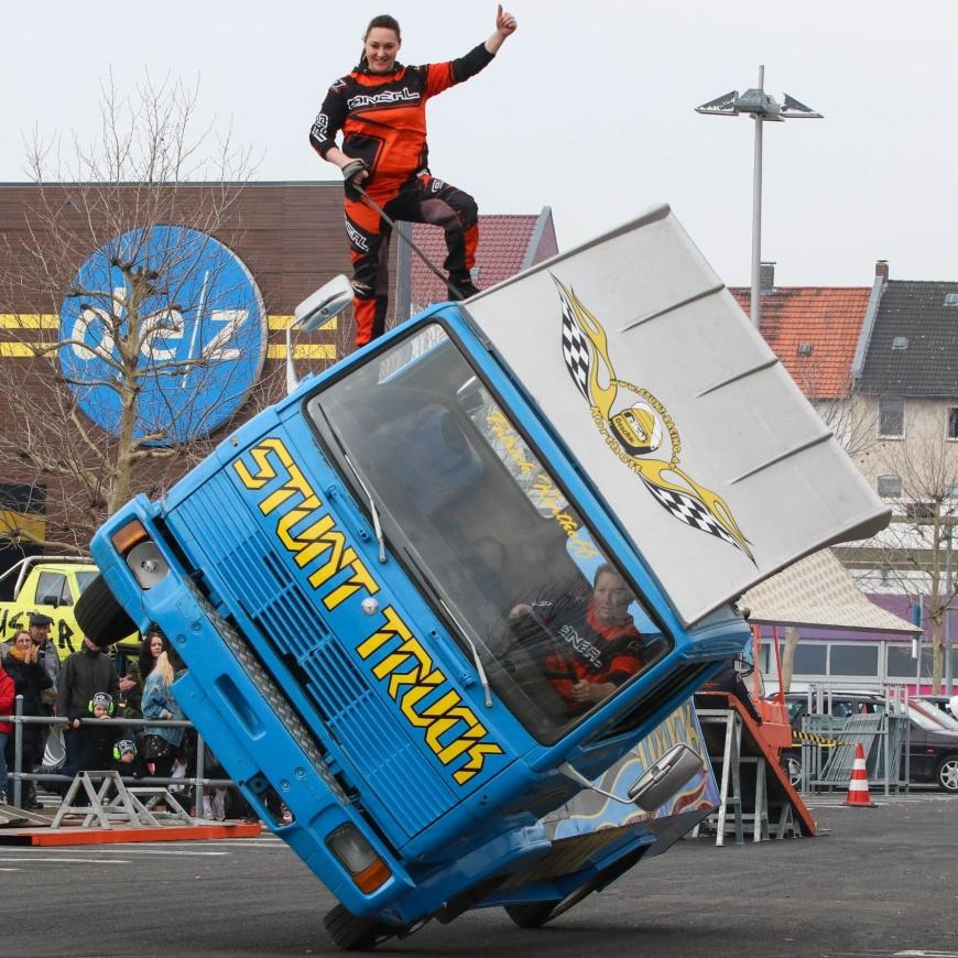"""Stunt-Event: """"Dynamit auf Rädern"""""""
