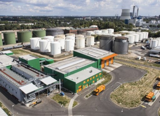 Biogasanlage West der BSR