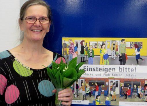 """Sabine Knauf: """"Einsteigen bitte!"""