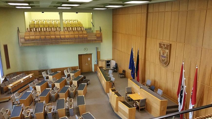 Bezirksverordnetensaal im Rathaus Spandau