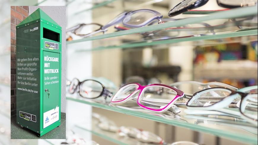 Brillenbox - Rückgabe mit Weitblick