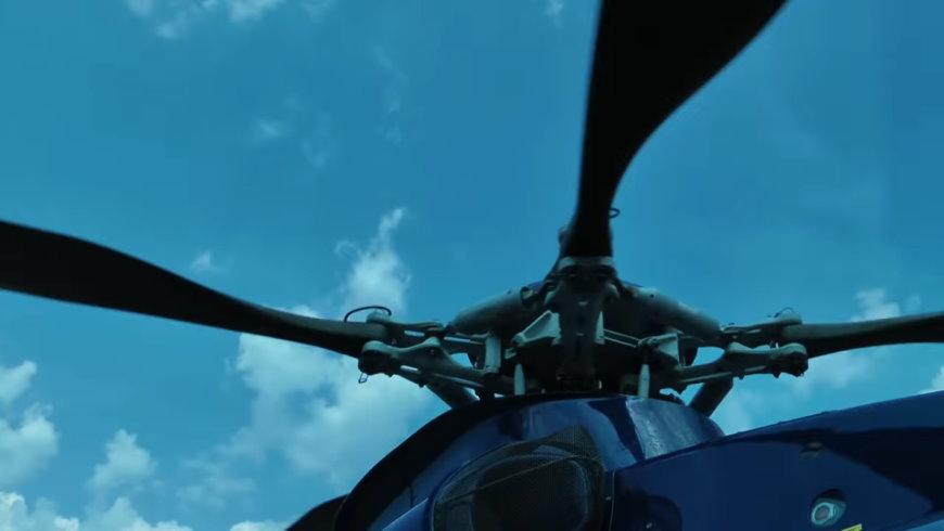Rotorkopf eines Hubschraubers
