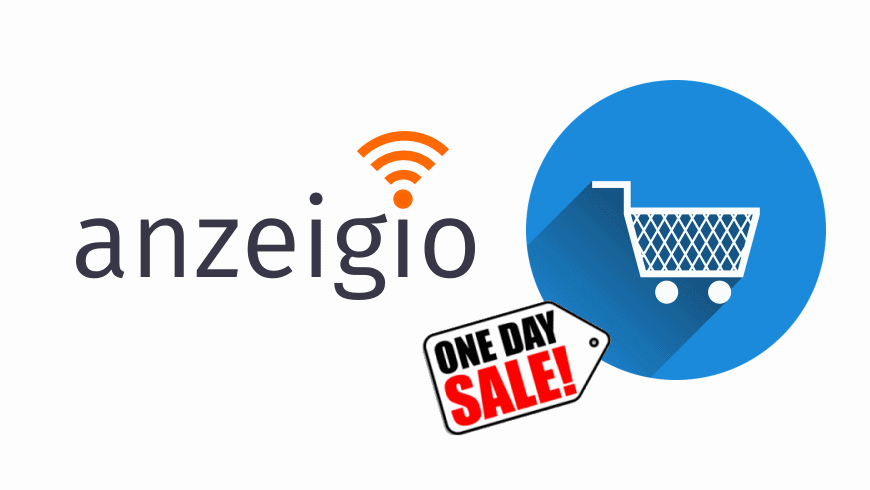 anzeigio ONE-DAY-SALES
