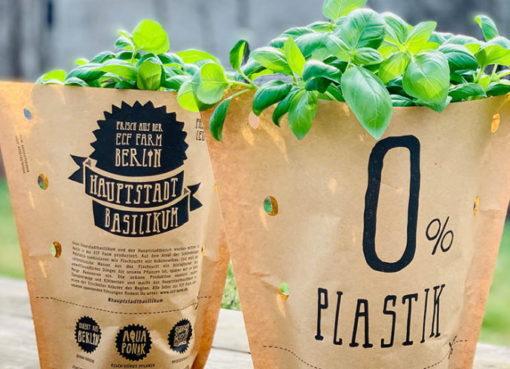 Pflanzen und Kräuter plastikfrei