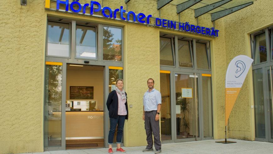 Das Team von HörPartner im Fachgeschäft in der Streitstraße 14 in Hakenfelde