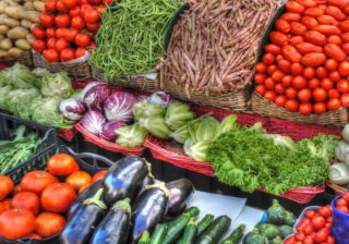 Markt in Spandau