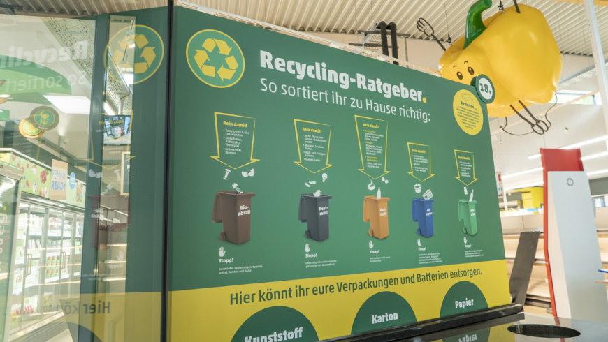 Abfalltrennung und Recycling - Foto: PENNY