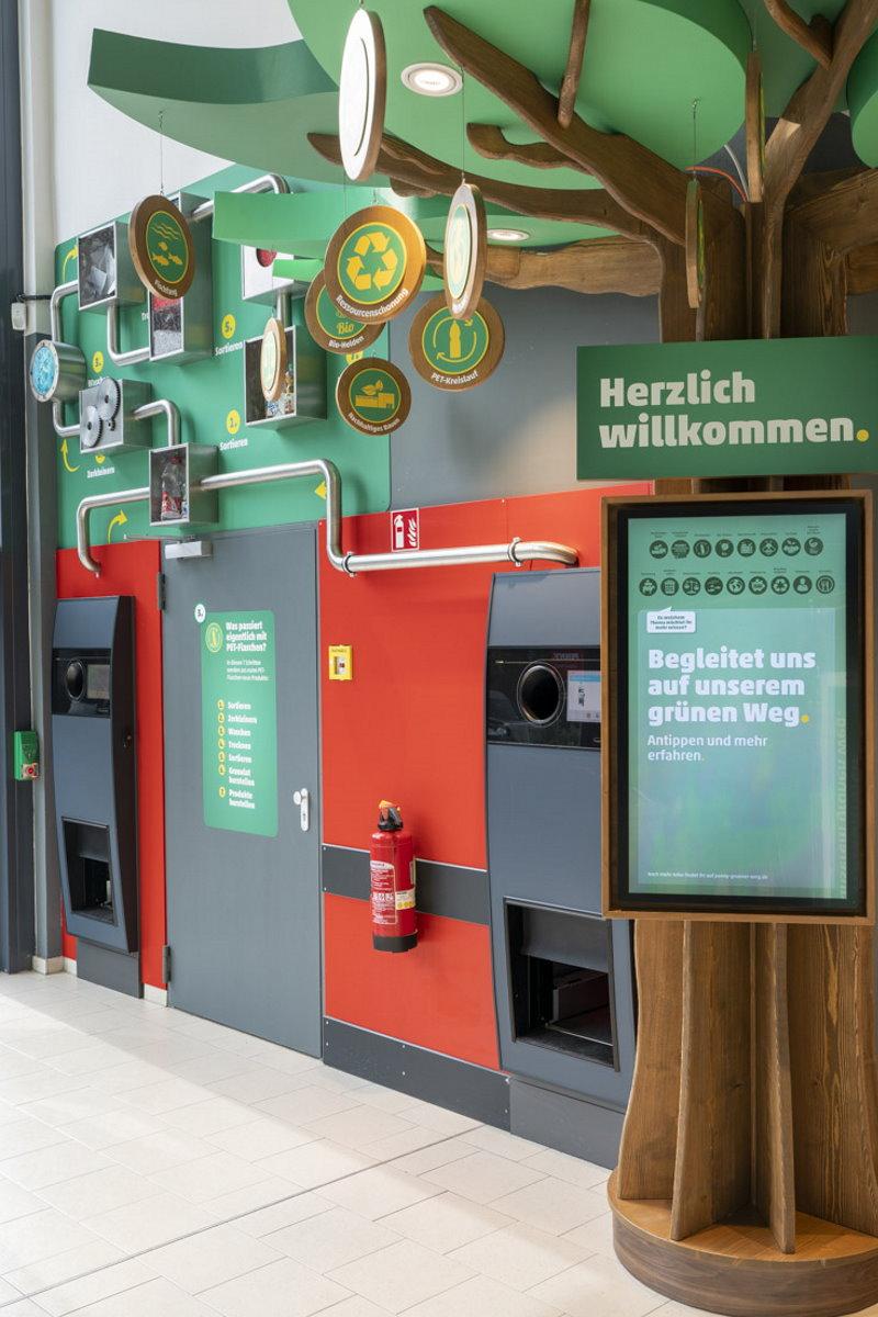 """""""PENNY Grüner Weg"""" zeigt die Nachhaltigkeits-Stationen - Foto: PENNY"""