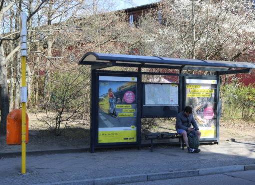 BVG: Bus-Haltestelle