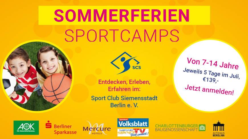 Sommerferien Sportcamps