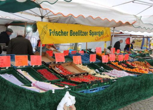 Marktstand in Spandau